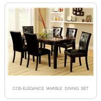 COS-ELEGANCE MARBLE DINING SET